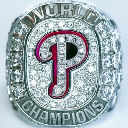2008 Philadelphia Phillies World Series Ring