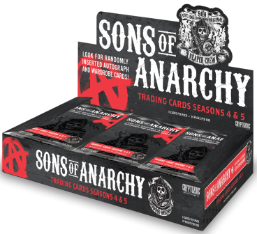Sons Of Anarchy Seasons 4 /& 5 Complete 72 Card Base Set