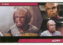 STAR TREK ALIENS Complete 100-Card Base Set  2014 RITTENHOUSE ARCHIVES