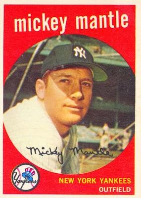 1959 Topps Baseball Cards Checklist Set Info Key Cards
