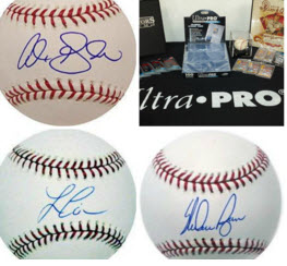Win 1 of 12 Great Baseball Card & Memorabilia Prizes