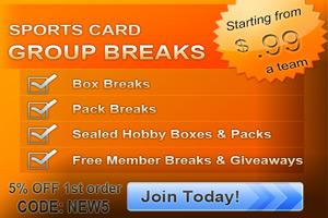 Premier Box Breaks