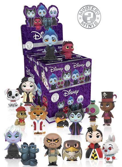 Funko Disney Villains Mystery Minis Checklist Info Odds