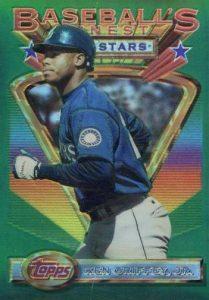 1995 Ken Griffey Jr Seattle Mariners Starting Lineup new in pkg w// BB card
