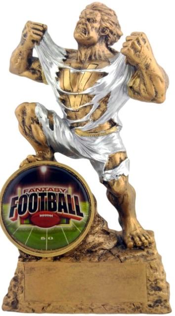 fantasy football championship ring trophy title belt