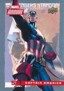 #13 CAPTAIN UNIVERSE 2019 Upper Deck Marvel Flair AVENGERS