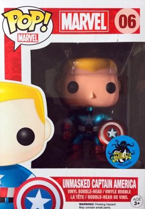 Funko Pop Captain America Figures Checklist Gallery