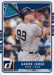Aaron Judge Rookie Card Checklist, Top Prospect Cards ...