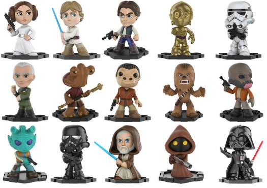 Funko Star Wars Mystery Minis Checklist Odds Exclusives