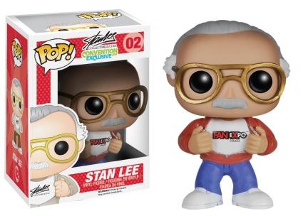 Funko Pop Stan Lee Checklist Gallery Exclusives List