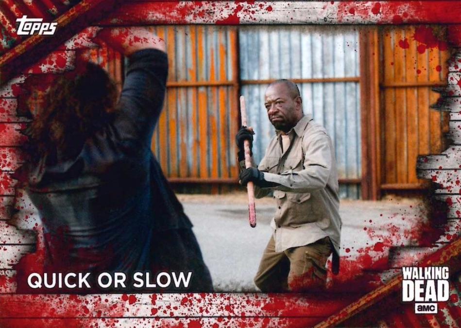 2017 Topps The Walking Dead Season 6 Ties That Bind F-2  Glenn /& Maggie