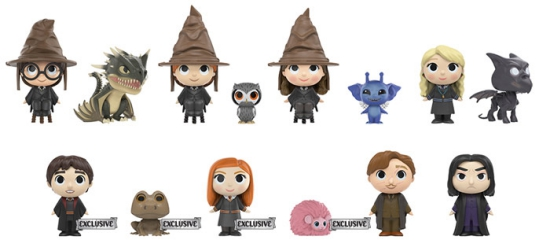 Funko Harry Potter Mystery Minis Series 2 Checklist Odds