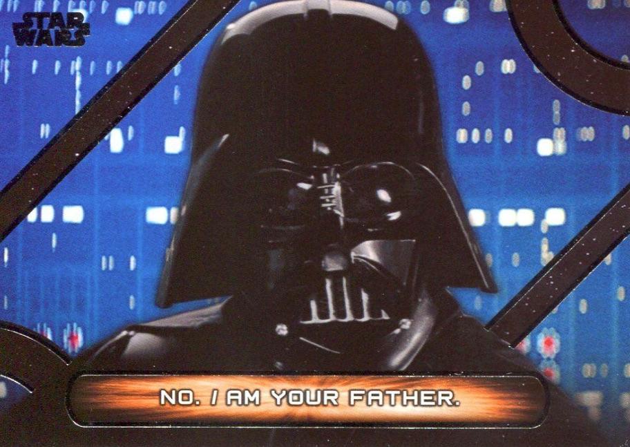 Star Wars Galactic Files Reborn Blue Parallel Base Card TPM-15 Rune Haako