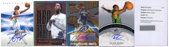 2010 NBA All-Star Basketball Card Teams 12