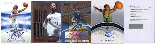 2010 NBA All-Star Basketball Card Teams 23