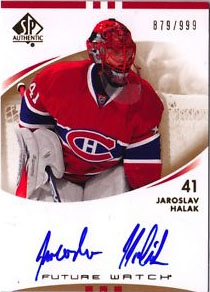 Jaroslav Halak Rookie Card Checklist 4