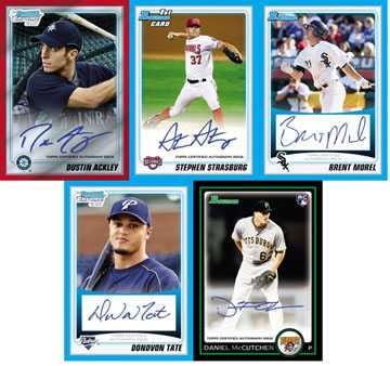 Cardboard Cliff Notes: 2010 Bowman Baseball 1