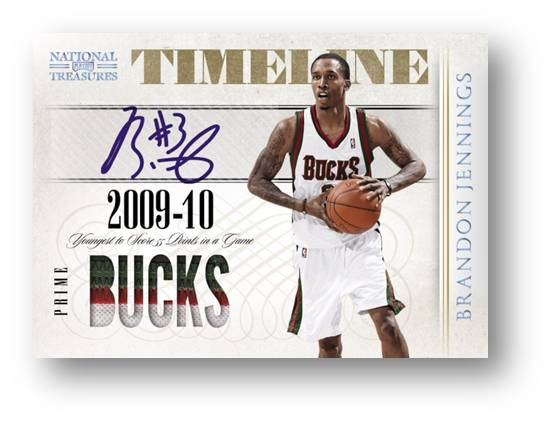 2009-10 Panini National Treasures Basketball 1