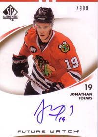 Top 5 Jonathan Toews Rookie Cards 4
