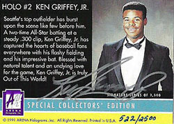 22 Years, 22 Cards, 1 Ken Griffey Jr. 3