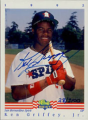 22 Years, 22 Cards, 1 Ken Griffey Jr. 4