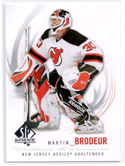 2009-10 SP Authentic Hockey Review 1