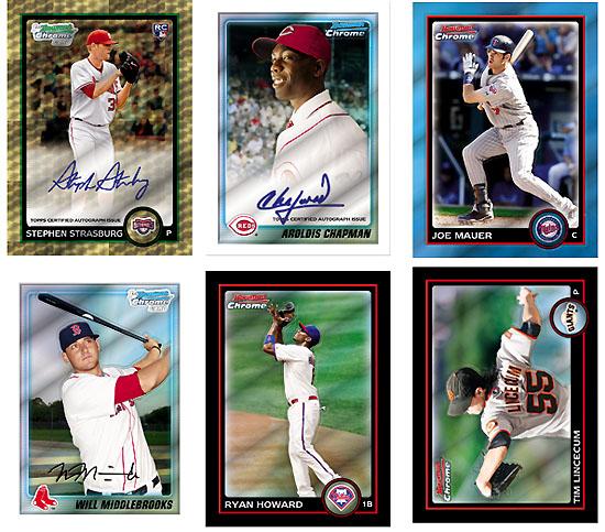 2010 Bowman Chrome Baseball 1