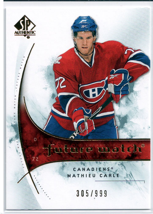 2009-10 SP Authentic Hockey Review 6