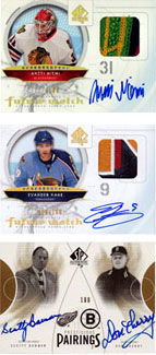 Top 25 First Day Sales: 2009-10 SP Authentic 2