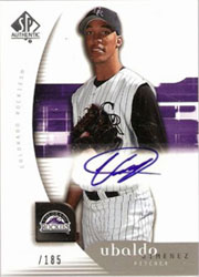 Top 5 Ubaldo Jimenez Rookie Cards 1