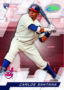 Carlos Santana RRO, Prince Fielder Highlight This Week's 2010 eTopps Releases 3