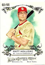 Top 100 First Day Sales: 2010 Topps Allen & Ginter 4