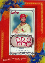 Top 100 First Day Sales: 2010 Topps Allen & Ginter 3