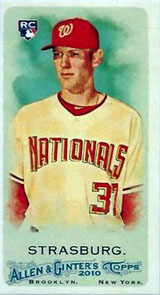 Top 100 First Day Sales: 2010 Topps Allen & Ginter 2