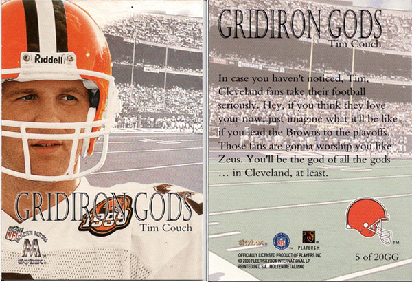 Great Scouting Reports From The Back Of Football Cards 1