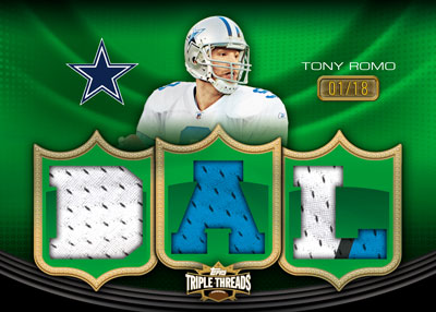 2010 Topps Triple Threads Football 5