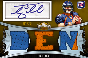 2010 Topps Triple Threads Football 9