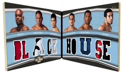 2010 Topps UFC Knockout 1
