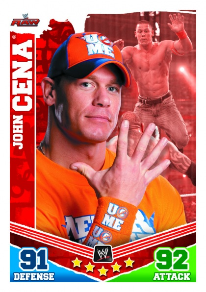 2010 Topps WWE Slam Attax Mayhem 7