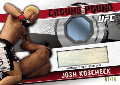 2010 Topps UFC Knockout 6