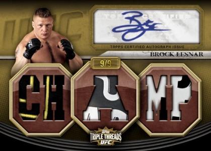 2010 Topps UFC Knockout 7