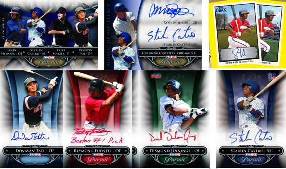2010 TriStar In Pursuit Of the Majors Series 2 Baseball 1