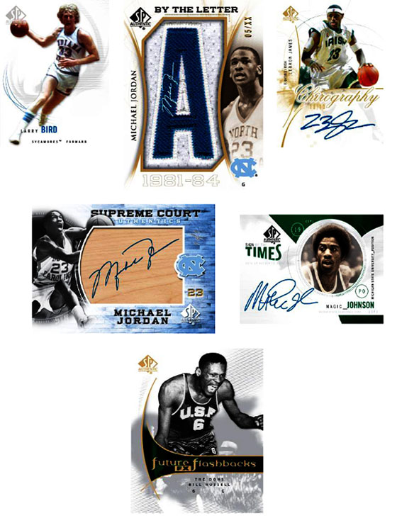 2010-11 SP Authentic College Basketball 1