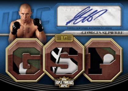 2010 Topps UFC Knockout 16