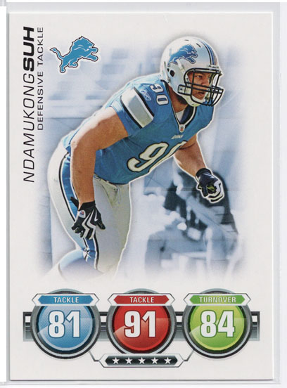 2010 Topps Attax Football Review 5