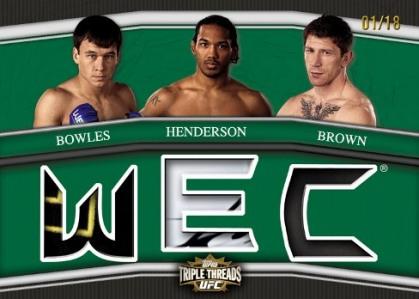 2010 Topps UFC Knockout 17