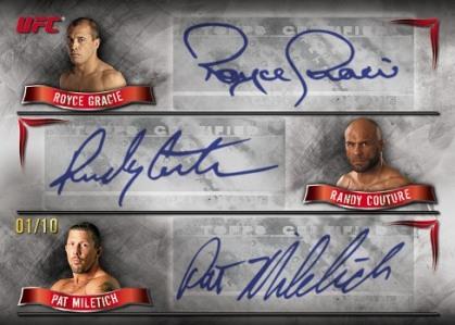 2010 Topps UFC Knockout 19