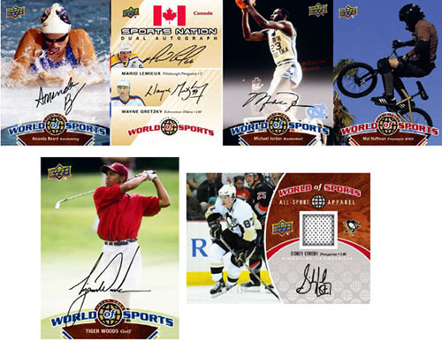 2010 Upper Deck World of Sports 1