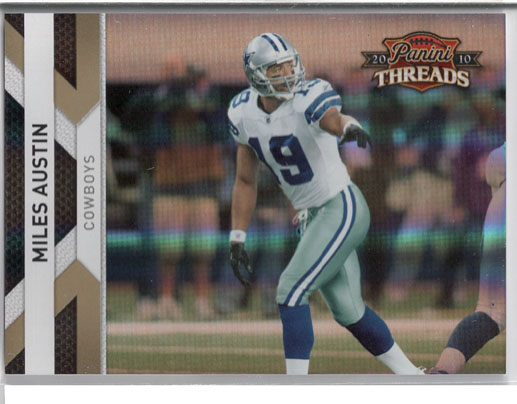 2010 Panini Threads Football Review 1