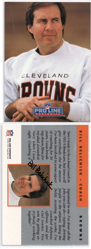 NFL Head Coach Autographed Football Card Guide 1